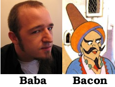 Jono Bacon looks like Ali Baba.