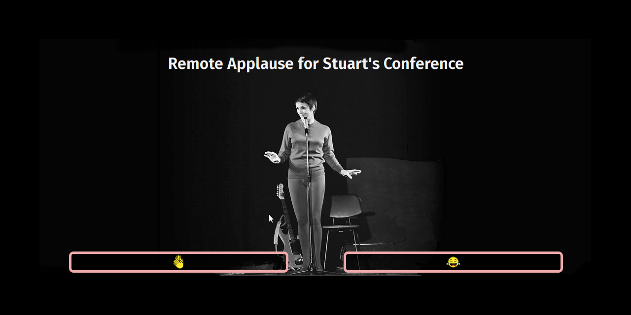 the Remote Applause audience page